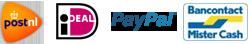 Betaal via iDEAL en verzending met PostNL