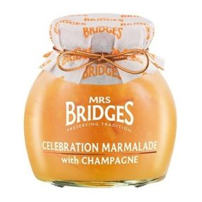 Celebration Marmalade With Champagne 340G - Mrs Bridges