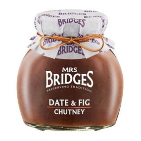 Date And Fig Chutney 295G - Mrs Bridges