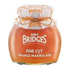 Fine Cut Orange Marmalade 340G - Mrs Bridges