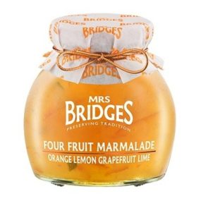 Four Fruit Marmalade 340G - Mrs Bridges