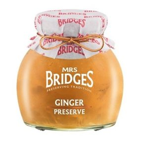 Ginger Preserve 340G - Mrs Bridges