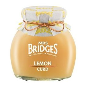 Lemon Curd 340G - Mrs Bridges