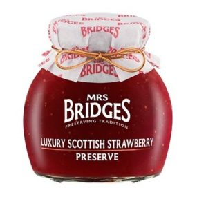 Luxury Scottish Strawberry Preserve 340G - Mrs Bridges
