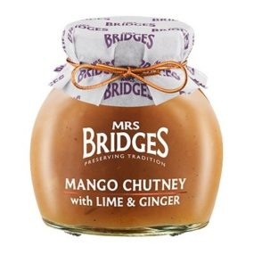 Mango Chutney With Lime And Ginger 290G - Mrs Bridges