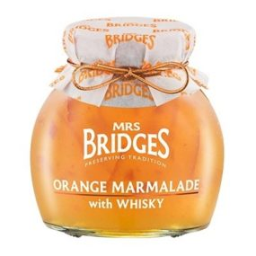 Orange Marmalade With Whisky 340G - Mrs Bridges