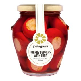 Cherry Peppers Met Tonijn 280G - Pelagonia