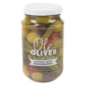 Olijven Cocktail 350G - Ole Olives